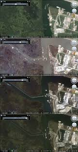 New Orleans Google Map by New Orleans U0026 Hurricane Katrina 10 Years On Google Earth Blog