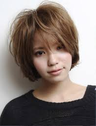 pictures of short messy asian haircut
