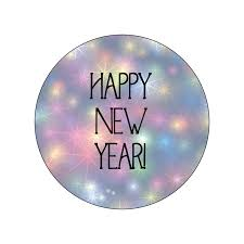 new year sticker new year stickers flexi labels