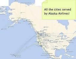 alaska air map how to use alaska air million mile secrets