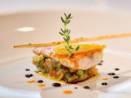 haute cuisine dishes haute dots of sauce culinary or a horror on a plate the