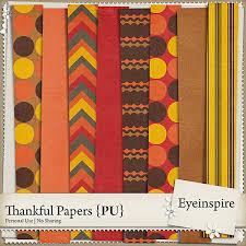 free digital scrapbook papers thankful from eyeinspire best free