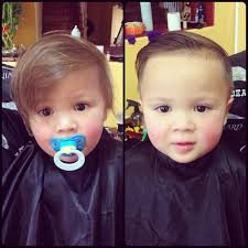 baby hair styles 1 years old 1 year old connor s first haircut combover lidobab flickr