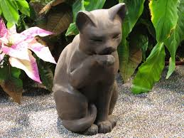 luxury inspiration cat garden statue large ornamental