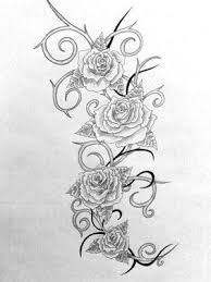 thorn amongst roses tattoo pictures to pin on pinterest tattooskid