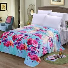 throws blankets for sofas online get cheap flower throw blanket aliexpress com alibaba group