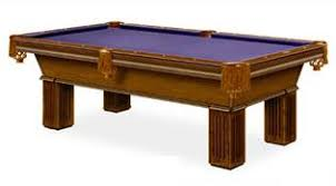 Used Pool Table by Used 9 U0027 Brunswick Centennial Pool Table