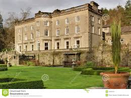 large english country house and garden stock image image 4241421