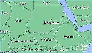 africa map khartoum where is khartoum the sudan khartoum khartoum map