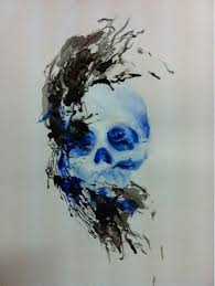 skull tattoo sketch cool tattoos repined from pinterest