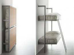 Twin Bunk Murphy Bed Kit Wall Mounted Bunk Beds Stylish Wall Mounted Bunk Beds Beds