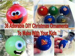 36 adorable diy ornaments to make with your find