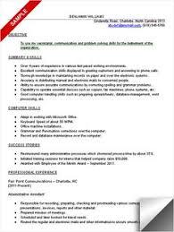 Entry Level Job Resume  college sample resume  cover letter job