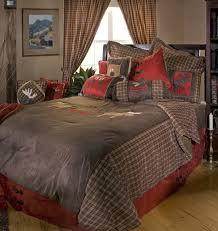 Plaid Bed Set Moose Plaid Bedding Set Carstens Inc