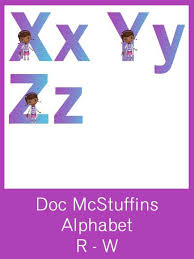 doc mcstuffins alphabet letters free pdf download party ideas