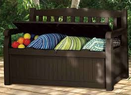 Patio Furniture Storage Bench Patio Storage Bench Small Patio Furniture 9 Double Duty