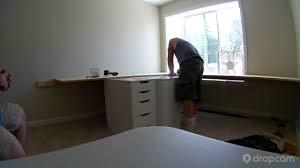 Built In Desk by Built In Desk Time Lapse Youtube