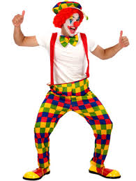 clown costumes classic clown costume fancydress