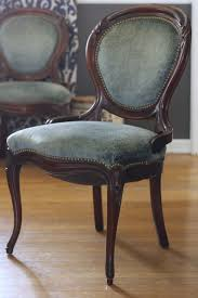 French Dining Room Table Blue Velvet French Dining Chairs
