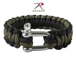 buckle paracord bracelet images Paracord bracelet w stainless steel d shackle closure od green jpg