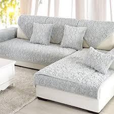 housse canapé imperméable protecteur de meubles canapé pour chien couleur unie de housse