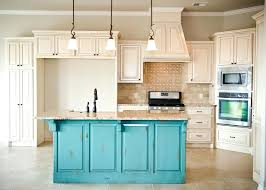 chalk paint cabinets distressed painting and distressing kitchen cabinet