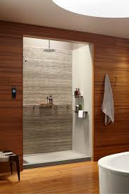 large white fiberglass tubs mixed black ceramic floor as well f 3 steps to add trim and borders to diy shower wall panels shower