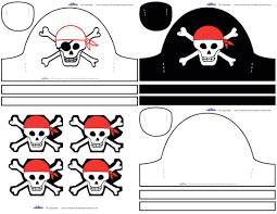 pirate eye patch free kids crafts