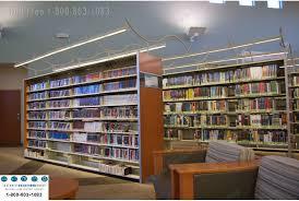 directed library shelving lighting led lights for static