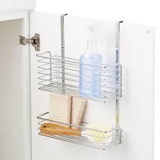 kitchen cabinet door storage racks cabinet door storage the container store