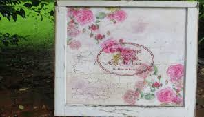 how to decoupage a shabby chic vintage salvage window youtube