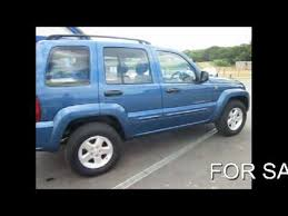 2003 blue jeep liberty for sale 2003 jeep 3 7 ltd automatic blue with black