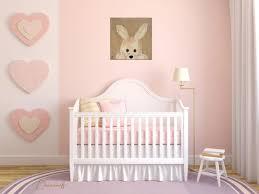 chambre lapin chambre fille beige et 4 tableau enfant bebe lapin en peluche