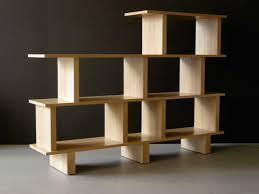 furniture smart wooden bookshelf design for your bedroom