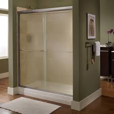Arched Shower Door American Standard Ovation 60 In X 58 In Framed Bypass Tub Shower