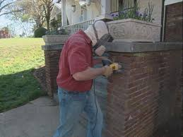 Pointing A Patio by How To Repoint Mortar How Tos Diy