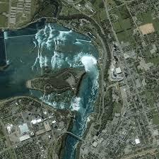 Niagara Falls Canada Map by Niagara Falls Image Of The Day