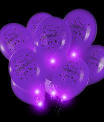 halloween led balloons led 14 inch blinky balloons purple coolglow com