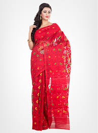 dhakai jamdani dhakai jamdani cotton silk sarees online by rlbfashion rlbfashion