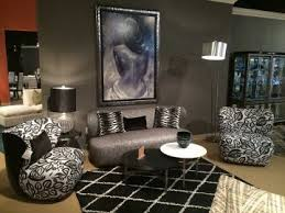 Aico Living Room Sets Studio Amsterdam 2 Living Room Set In Black Onyx