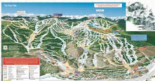 Colorado Usa Map by Colorado Ski Resorts Map Getoutskiing Com
