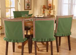 christmas chair back covers astonishing christmas dining room chair covers 20 for your cheap