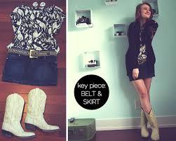 5 ways to style cowboy boots u2014 lauren by design