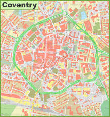 map uk coventry coventry city center map