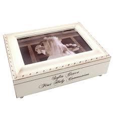 communion jewelry box communion frame box girl the catholic company