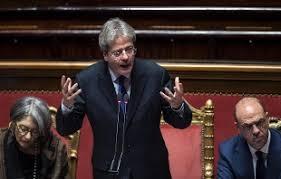 consiglio dei ministri europeo gentiloni al senato in vista prossimo consiglio europeo in