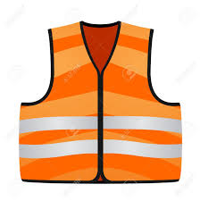 Construction High Visibility Clothing Orange Vest Royalty Free Cliparts Vectors And Stock Illustration