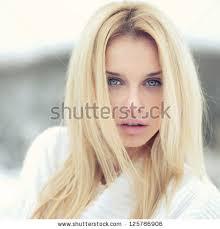 photograph beautiful young woman look stock photo 125786906
