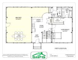 barn house open floor plans example of concept home tearing with