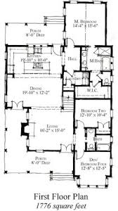 Country Cottage Floor Plans First Floor Plan Of Country Historic House Plan 73886 House